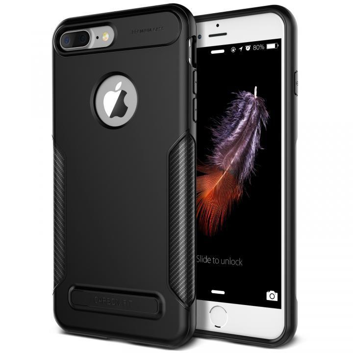 iPhone8 Plus/7 Plus ケース VERUS NEW Carbon Fit TPUケース ブラック iPhone 8 Plus/7 Plus_0