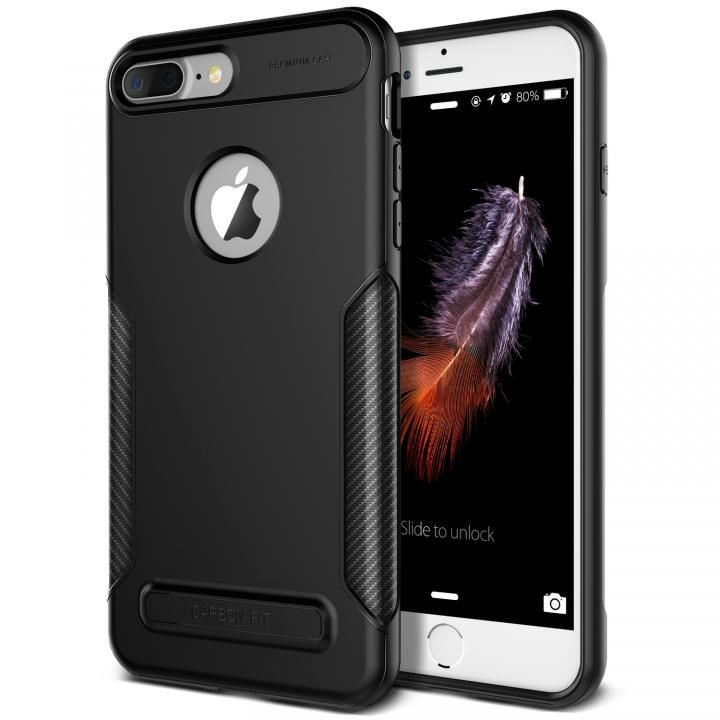 VERUS NEW Carbon Fit TPUケース ブラック iPhone 8 Plus/7 Plus
