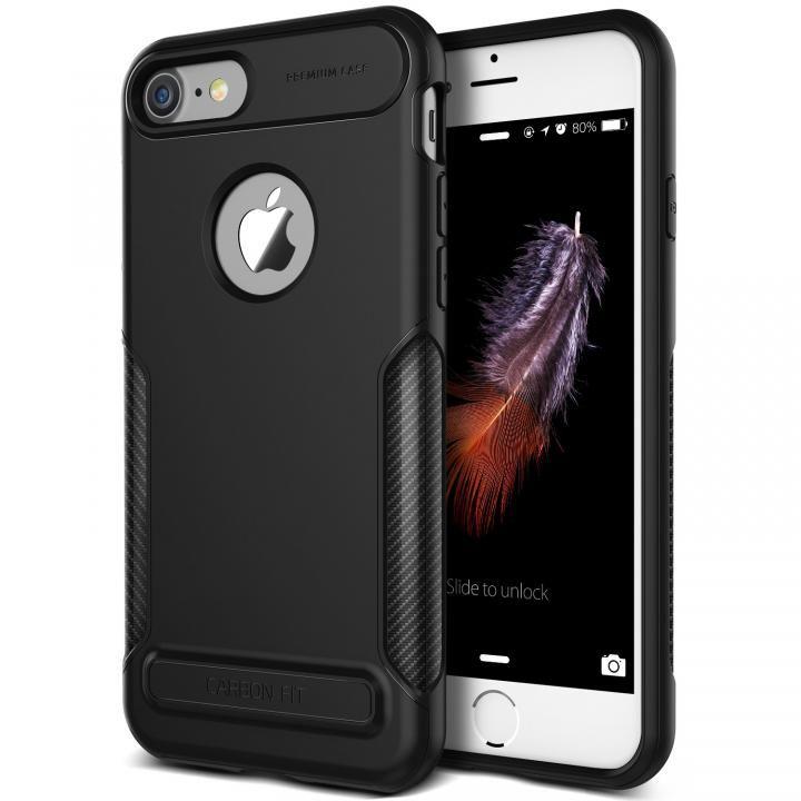 【iPhone8/7ケース】VERUS NEW Carbon Fit TPUケース ブラック iPhone 8/7_0