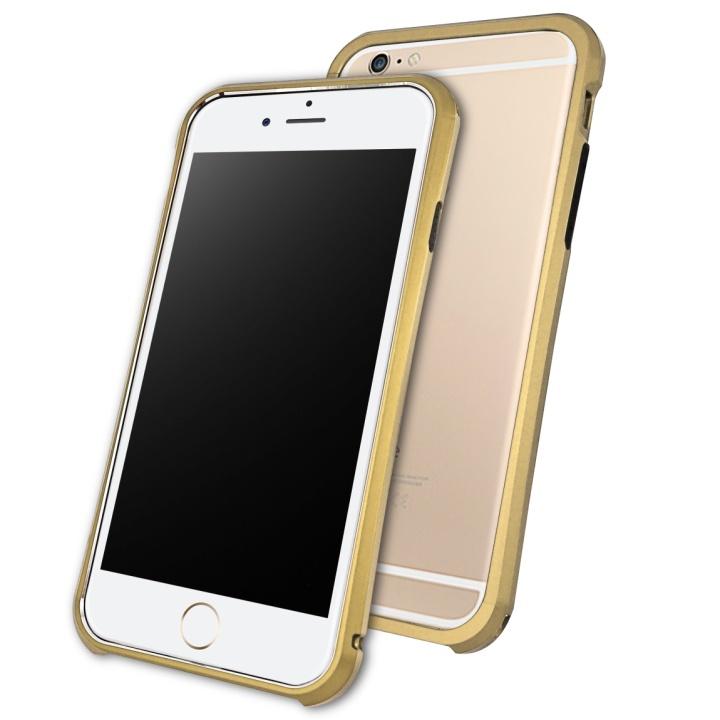 【iPhone6ケース】DRACOdesign アルミニウムバンパー Tigris ゴールド iPhone 6_0