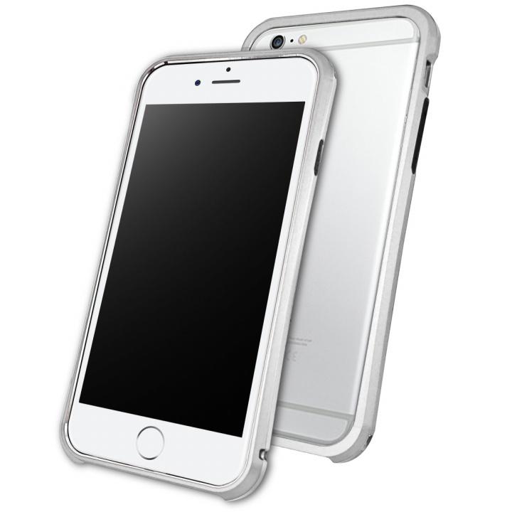 【iPhone6ケース】DRACOdesign アルミニウムバンパー Tigris シルバー iPhone 6_0