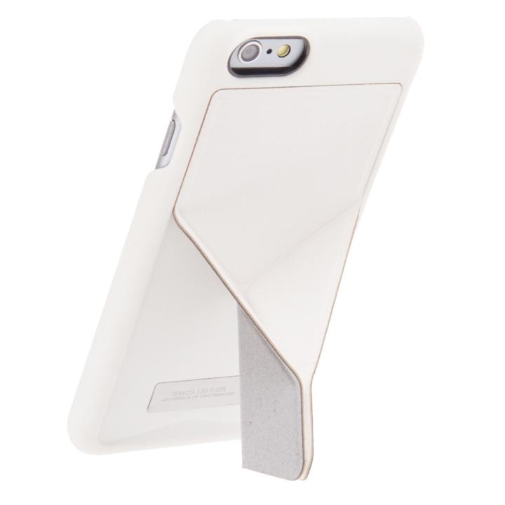 【iPhone6ケース】DRACOdesign チグリス スタンドケース ホワイト iPhone 6_0