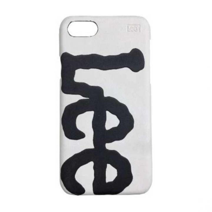 iPhone8/7/6s/6 ケース Lee デニム合皮背面ケース ホワイト iPhone 8/7/6s/6_0