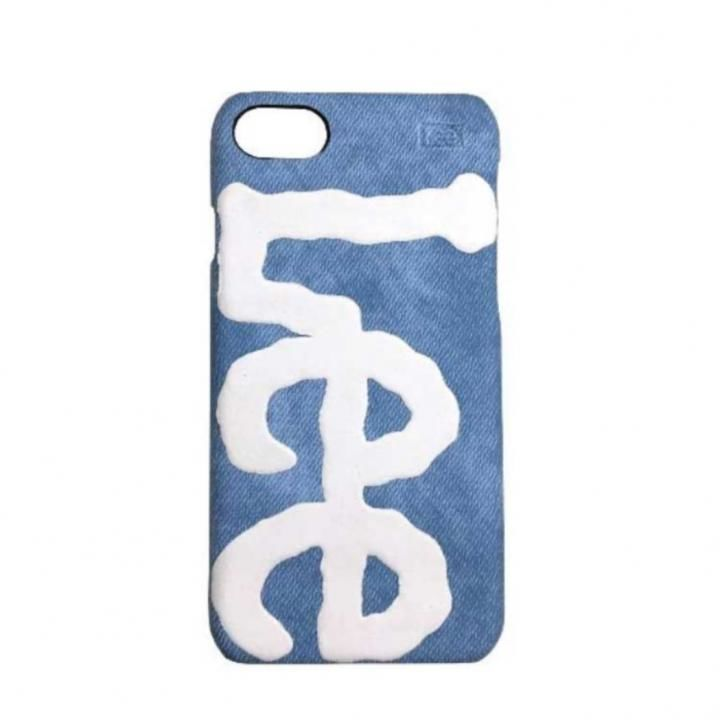 iPhone8/7/6s/6 ケース Lee デニム合皮背面ケース ブルー iPhone 8/7/6s/6_0