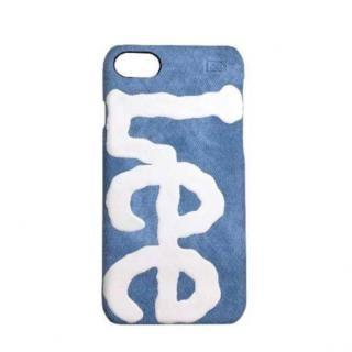 iPhone8/7/6s/6 ケース Lee デニム合皮背面ケース ブルー iPhone 8/7/6s/6【5月中旬】