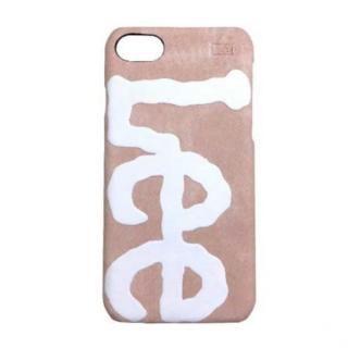 【iPhone7 ケース】Lee デニム合皮背面ケース ピンク iPhone 8/7/6s/6【9月上旬】