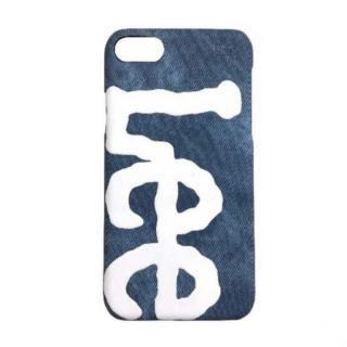 iPhone8/7/6s/6 ケース Lee デニム合皮背面ケース ネイビー iPhone 8/7/6s/6【8月上旬】