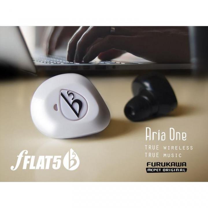 完全ワイヤレスイヤホン Aria One マイク内蔵 防滴 fFLAT5_0