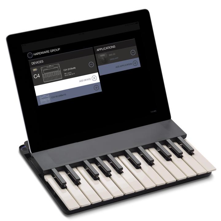 ワイヤレス音楽キーボード MISELU C.24 Keyboard