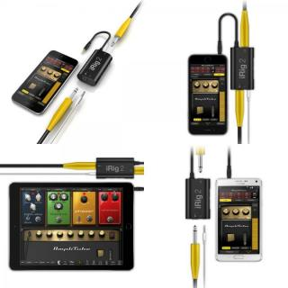ギター用モバイルインターフェイス IK Multimedia iRig 2_2