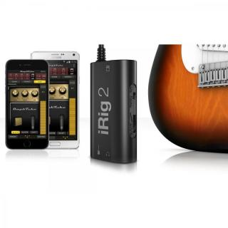 ギター用モバイルインターフェイス IK Multimedia iRig 2_6