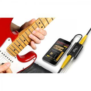 ギター用モバイルインターフェイス IK Multimedia iRig 2_7