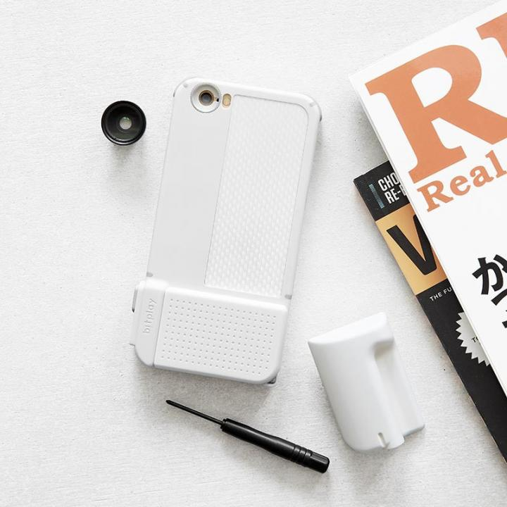 iPhone6s/6 ケース SNAP! PRO 物理シャッターボタン搭載ケース Advanced ホワイト iPhone 6s/6_0