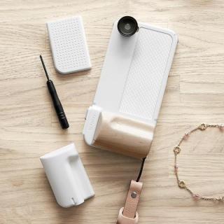 SNAP! PRO 物理シャッターボタン搭載ケース Premium ホワイト iPhone 6s/6