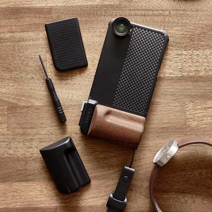 iPhone6s/6 ケース SNAP! PRO 物理シャッターボタン搭載ケース Premium ブラック iPhone 6s/6_0