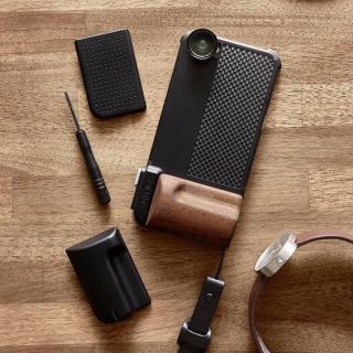 SNAP! PRO 物理シャッターボタン搭載ケース Premium ブラック iPhone 6s/6