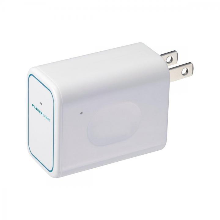 コンセント直挿型トラベル無線LANルータ ちびファイ3 11n/g/b対応