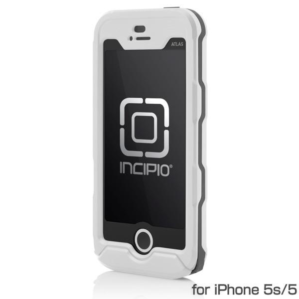 Touch IDが使える防水ケース Incipio ATLAS ID ホワイト/ライトグレー iPhone 5s/5 ケース 送料無料