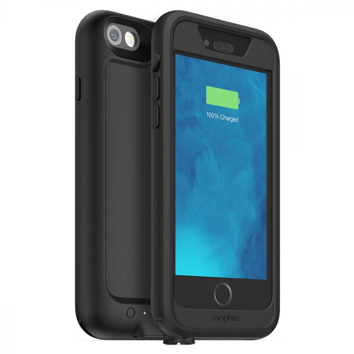 iPhone6s/6 ケース [2750mAh]防水・耐衝撃バッテリー内蔵ケース mophie H2PRO ブラック iPhone 6s/6_0