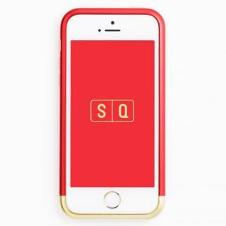 iPhone SE/5s/5 ケース 超々ジュラルミンA7075 ツートンカラー バンパー レッド*ゴールド iPhone SE/5s/5バンパー