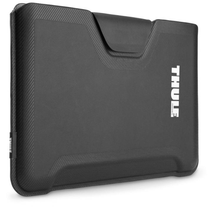 高い収納力と耐衝撃性 MacBookAir11インチ用スリーブケース Thule Gauntlet ブラック_0