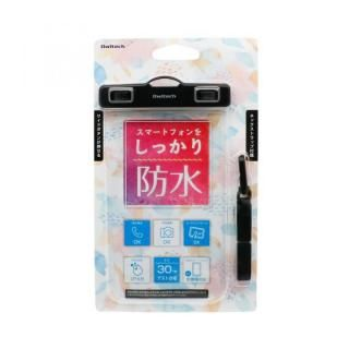 iPhone XR/XS Max ケース スマートフォン用 防水ケース オールクリアタイプ  ブラック【1月下旬】