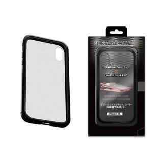 iPhone XR ケース アルミバンパー 360STRONG ブラック iPhone XR
