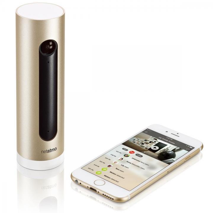 顔認識システム搭載 スマートホームカメラ Netatmo Welcome