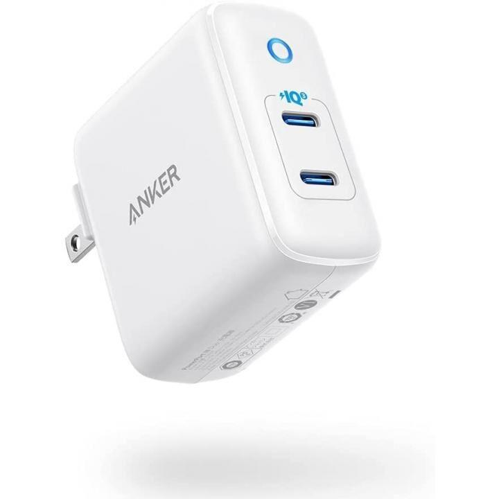 Anker PowerPort III Duo 20W 2ポートUSB急速充電器 改善版 ホワイト_0