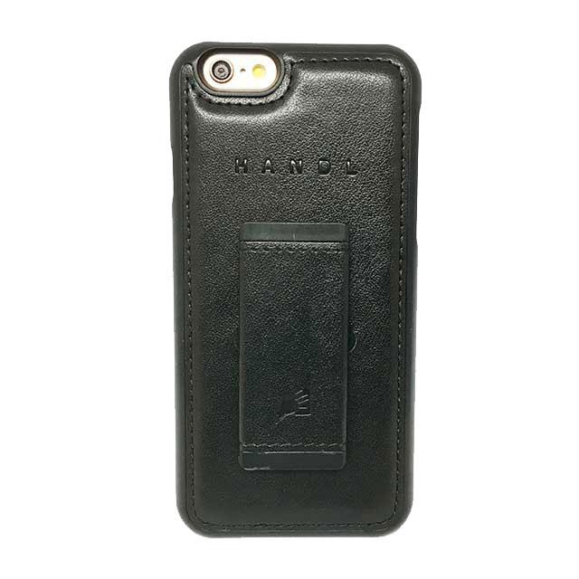 【iPhone6s/6ケース】HandL スタンドケース ブラック iPhone 6s/6_0
