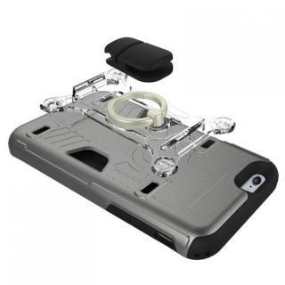 【iPhone6s/6ケース】磁気エラー防止シート付属 PhoneFoam FURY リング版 レッド iPhone 6s/6_3