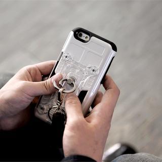 【iPhone6s/6ケース】磁気エラー防止シート付属 PhoneFoam FURY リング版 レッド iPhone 6s/6_7
