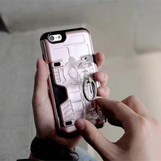 【iPhone6s/6ケース】磁気エラー防止シート付属 PhoneFoam FURY リング版 レッド iPhone 6s/6_9