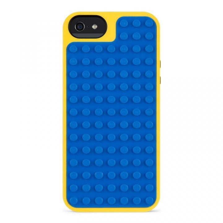 iPhone SE/5s/5 ケース Belkin iPhone SE/5s/5対応レゴケース (ブルー/イエロー)_0