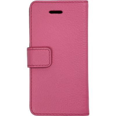 【iPhone SE/5s/5ケース】【iPhone SE/5s/5】 Highend Berry フェアリーピンク レザー 手帳型ケース_0