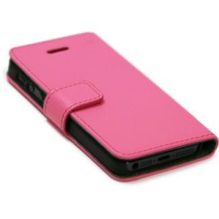【iPhone5】Highend Berry フェアリーピンク レザーケース