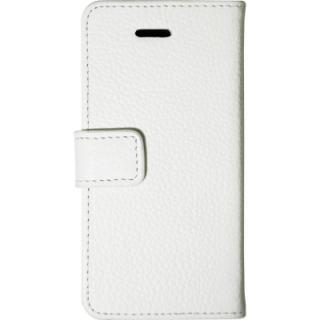 【iPhone SE/5s/5】 Highend Berry スノーホワイト レザー手帳型ケース