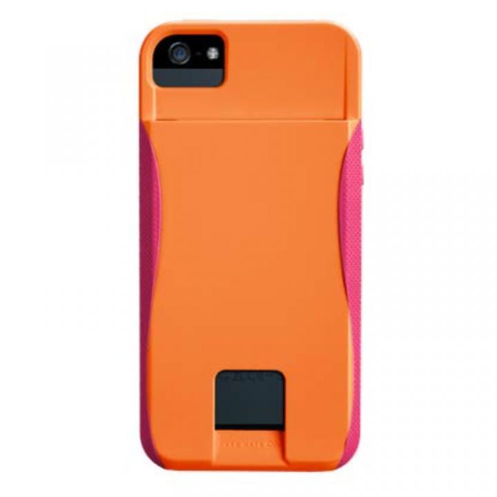 Case-Mate Orange/Lipstick Pink ID カードホルダー付  ケース