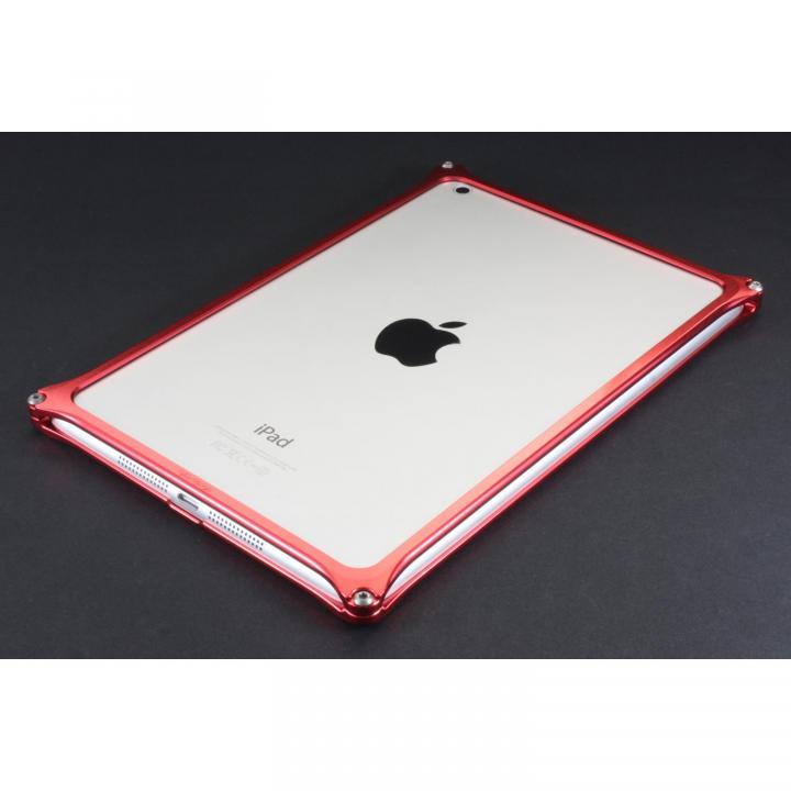 こだわりの日本製 ソリッドバンパー  iPad mini/2/3 レッド_0