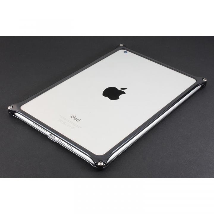 こだわりの日本製 ソリッドバンパー  iPad mini/2/3 ブラック_0