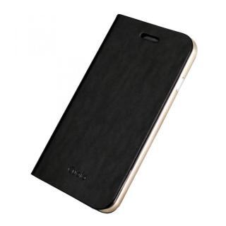 手帳×アルミバンパーケース Cuoio 黒×ゴールド iPhone 6