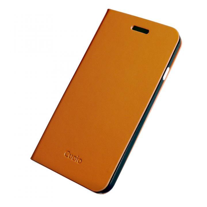 手帳×アルミバンパーケース Cuoio 茶×ブラック iPhone 6