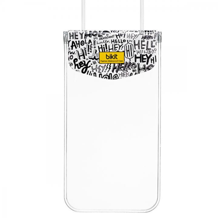 【iPhone SE/6/6 Plusケース】bikit スマートフォン用ファッション防水ポーチ カジュアル ビッグ レター_0