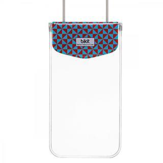 bikit スマートフォン用ファッション防水ポーチ カジュアル ビッグ ブルーダイアモンド