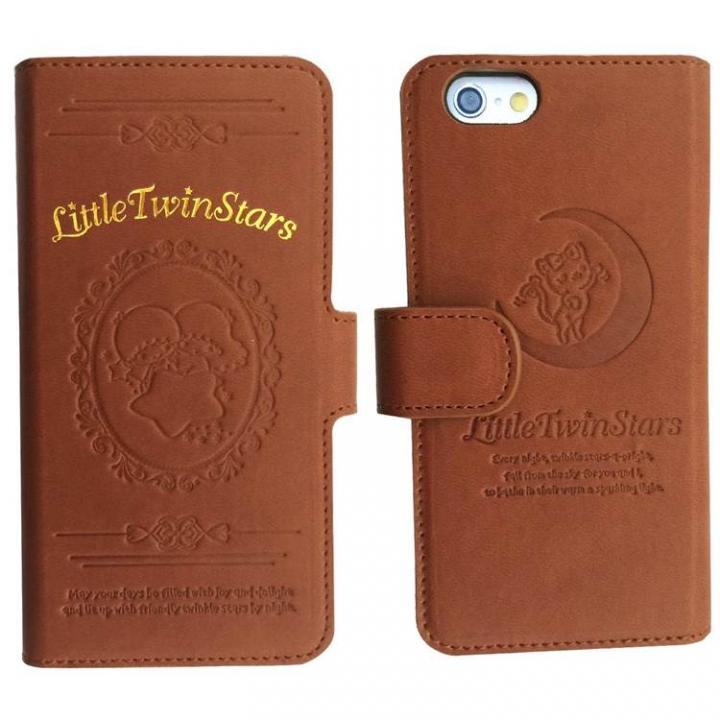 【iPhone6ケース】キキ&ララ PUレザー手帳型ケース iPhone 6s/6_0