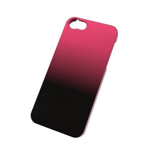 iPhone SE/5s/5 ケース グラデーション ケース ブラック×レッド iPhone SE/5s/5ケース_0