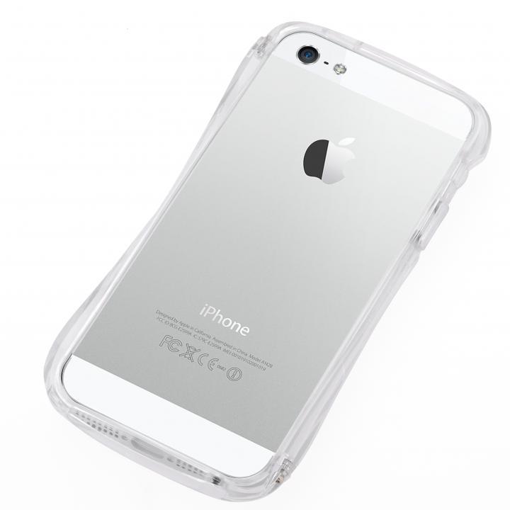 美しい3次元曲線 CLEAVE Bumper  iPhone SE/5s/5 Clear Crystal