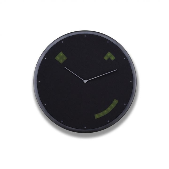 Glance Clock ハイブリッドIoT壁掛け時計 Graphite_0