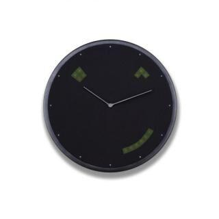 Glance Clock ハイブリッドIoT壁掛け時計 Graphite