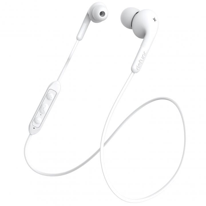 DeFunc BT Earbud PLUS Bluetoothイヤホン Music ホワイト_0